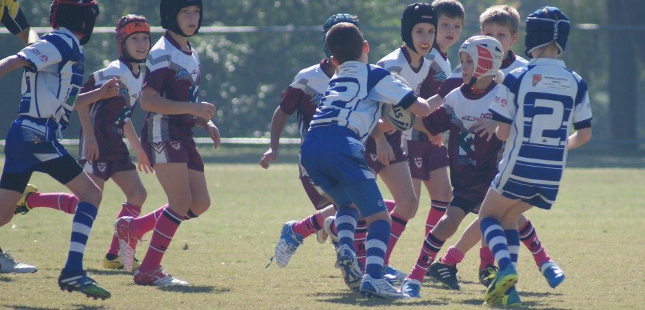 Joeys JRLFC U9 Defensive Wall