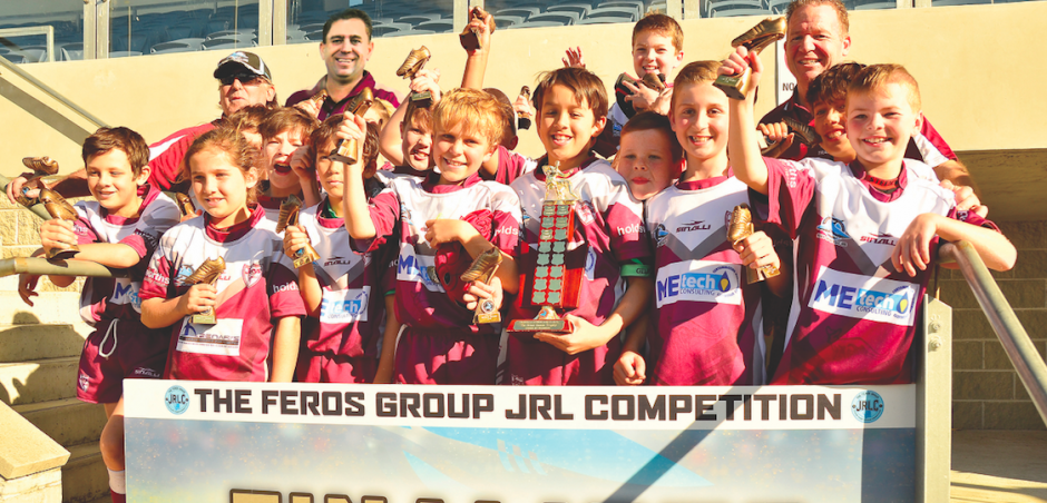 Joeys JRLFC U11 Undefeated Premiers – 2016